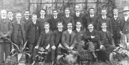 Dunston men, Xmas 1905