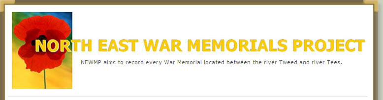 north east war memorials project